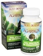 Image of Fungi Perfecti - Host Defense Agarikon Vitality Support - 60 Vegetarian Capsules