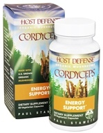 Fungi Perfecti - Host Defense Cordyceps Energy Support - 60 Vegetarian Capsules