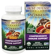 Image of Fungi Perfecti - Host Defense MyCommunity Comprehensive Immune Support - 120 Vegetarian Capsules