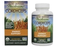 Fungi Perfecti - Host Defense Cordyceps Energy Support - 120 Vegetarian Capsules (633422031033)