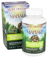 Image of Fungi Perfecti - Host Defense Maitake Cellular Support - 120 Vegetarian Capsules
