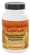 Libido Edge Labs - Good Health Complex Mucuna Pruriens (Velvet Bean) Supplement - 120 Vegetarian Capsules formerly GH Complex by Libido Edge Labs