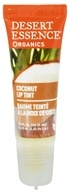 Desert Essence - Organics Lip Rescue Lip Tint Coconut - 0.35 oz. CLEARANCE PRICED