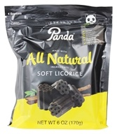 Panda - Licorice Soft Chews Black - 6 oz. - $2.34