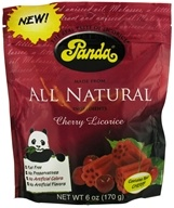 Panda - Licorice Soft Chews Cherry - 6 oz. (075172071691)