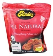 Panda - Licorice Soft Chews Raspberry - 6 oz.