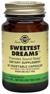 Solgar - Sweetest Dreams - 30 Vegetarian Capsules - $8.23