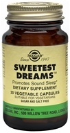 Image of Solgar - Sweetest Dreams - 30 Vegetarian Capsules