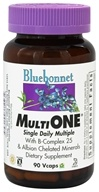 Bluebonnet Nutrition - Multi One Multivitamin & Multimineral - 90 Vegetarian Capsules (743715001305)