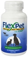 Flexcin - FlexPet with CM8 Joint Health - 60 Chewable Tablets