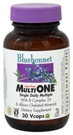 Image of Bluebonnet Nutrition - Multi One Multivitamin & Multimineral Iron-Free - 30 Vegetarian Capsules