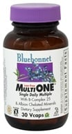 Bluebonnet Nutrition - Multi One Multivitamin & Multimineral Iron-Free - 30 Vegetarian Capsules, from category: Vitamins & Minerals