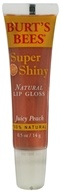 Burt's Bees - Natural Lip Gloss Super Shiny Juicy Peach - 0.5 oz.