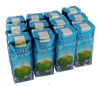 O.N.E. - Coconut Water 100% Natural Fat Free Unflavored - 11.2 oz.