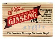 Image of Prince of Peace - Instant Korean Panax Ginseng Tea - 10 Bags
