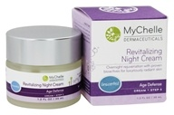 MyChelle Dermaceuticals - Revitalizing Night Cream Age Defense Step 5 Unscented - 1.2 oz. - $32
