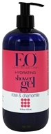 EO Products - Shower Gel Hydrating Softening Complex Rose & Chamomile - 16 oz.