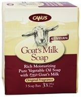 Canus - Goat's Milk Bar Soap Original Fragrance - 3 x 5 oz. Soap Bars (779242003994)