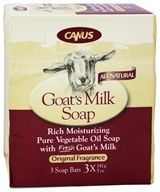 Canus - Goat's Milk Bar Soap Original Fragrance - 3 x 5 oz. Soap Bars