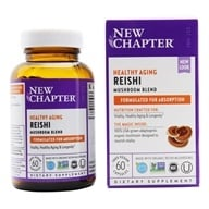 New Chapter - LifeShield Reishi Anti-Aging & Longevity 100% Vegan - 60 Vegetarian Capsules
