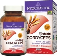 New Chapter - LifeShield Cordyceps Strength & Endurance 100% Vegan - 60 Vegetarian Capsules - $22.77