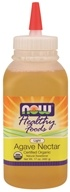 NOW Foods - Healthy Foods Agave Nectar Light Certified Organic - 17 oz.