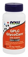 NOW Foods - GPLC GlycoCarn With CoQ10 - 60 Vegetarian Capsules