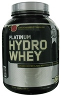 Image of Optimum Nutrition - Platinum Hydro Whey Advanced Hydrolyzed Whey Protein Supercharged Strawberry - 3.5 lbs.
