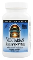Image of Source Naturals - Vegetarian Rejuvenzyme - 120 Capsules