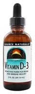 Image of Source Naturals - Vitamin D-3 Bioactive Form - 2 oz.