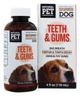 King Bio - Natural Pet Teeth & Gums For Canines - 4 oz. (357955440642)