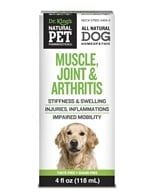 King Bio - Natural Pet Muscle, Joint & Arthritis Reliever For Canines Large - 4 oz. - $14.29