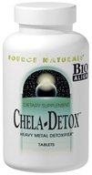 Image of Source Naturals - Chela-Detox - 60 Tablets