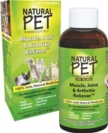 King Bio - Natural Pet Muscle, Joint & Arthritis Reliever For Felines Large - 4 oz.