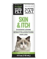 King Bio - Natural Pet Skin & Itch Irritation For Felines Large - 4 oz., from category: Homeopathy
