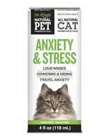 King Bio - Natural Pet Anxiety & Stress For Felines Large - 4 oz. (357955430445)