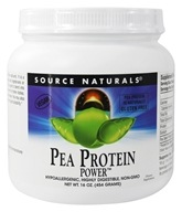 Source Naturals - Pea Protein Power Gluten-Free - 16 oz. (021078022770)