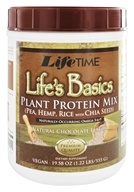 LifeTime Vitamins - Life's Basic Plant Protein Chocolate - 1.31 lbs. (053232900525)