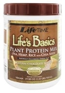 LifeTime Vitamins - Life's Basic Plant Protein Chocolate - 1.31 lbs. - $19.79