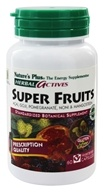 Nature's Plus - Herbal Actives Super Fruits Acai Goji Pomegranate Noni & Mangosteen - 60 Vegetarian Capsules