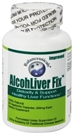 Balanceuticals - Alcohliver Fix Detoxify & Restore Healthy Liver Functions - 60 Vegetarian Capsules, from category: Detoxification & Cleansing