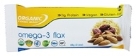 Organic Food Bar - Omega-3 Flax - 2.4 oz.