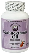 Balanceuticals - Sea Buckthorn Oil 500 mg. - 120 Softgels, from category: Nutritional Supplements