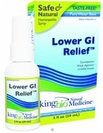 King Bio - Homeopathic Natural Medicine Lower GI Restoration Relief - 2 oz. formerly Restoration Restoring Intestinal Integrity by King Bio