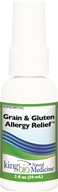 King Bio - Homeopathic Natural Medicine Grain & Gluten Allergy Relief - 2 oz.