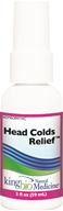 King Bio - Homeopathic Natural Medicine Head Cold Relief - 2 oz.