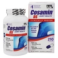 Cosamin - DS Double Strength Joint Health Supplement - 210 Capsules - $75.99