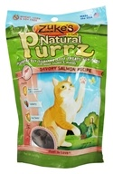 Zuke's - Natural PurrZ Moist Cat Treats Savory Salmon - 3 oz. by Zuke's