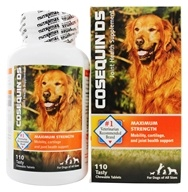 Cosequin - DS Maximum Strength Joint Health Supplement for Dogs - 110 Chewable Tablets by Cosequin