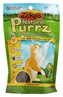 Zuke's - Natural PurrZ Moist Cat Treats Tender Chicken - 3 oz. by Zuke's